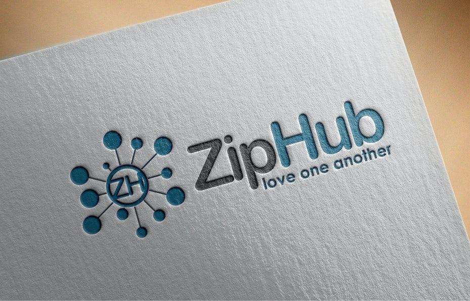 17 logo zip hub