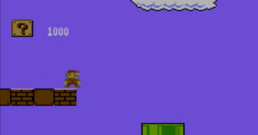Design Mario Bros 1985