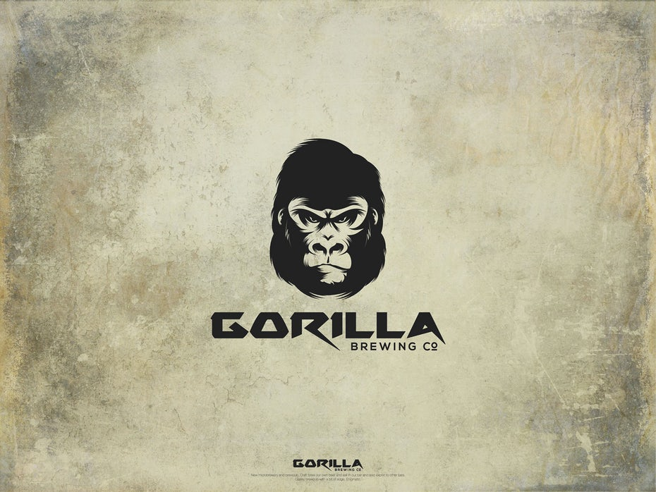 21 logo gorilla
