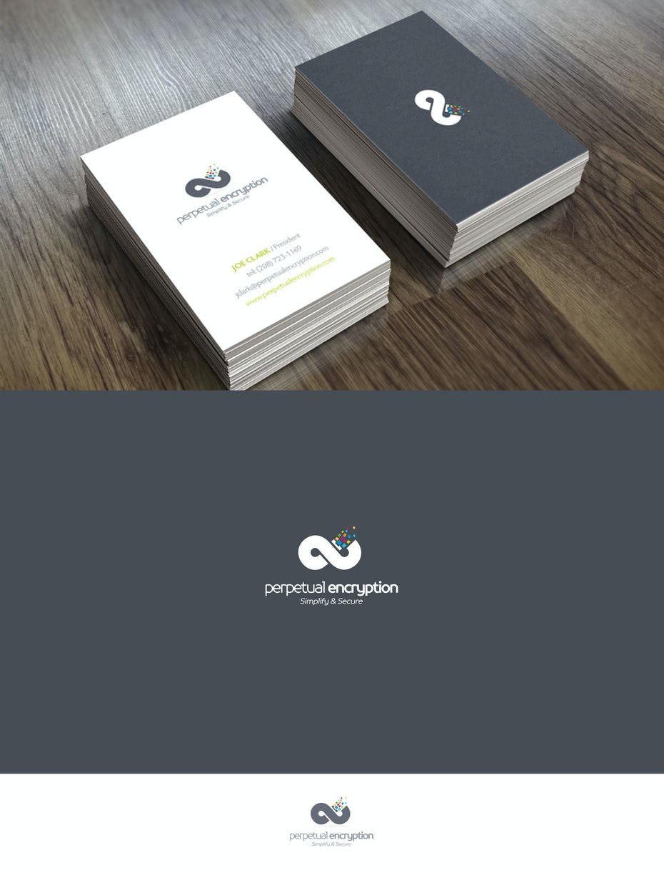 6 business cards Pixel