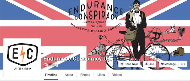 Endurance Conspiracy social media branding
