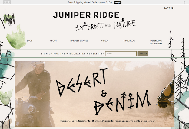 Juniper Ridge Web