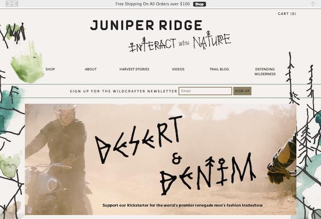 Juniper Ridge Web