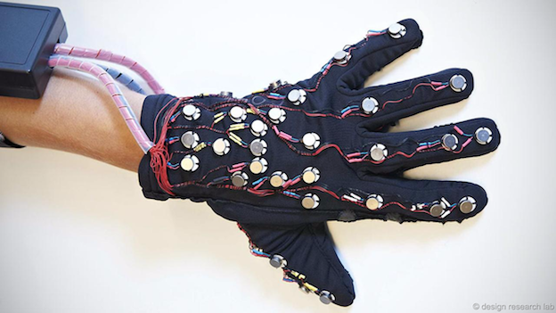Art and Technology: Mobile Lorm Glove