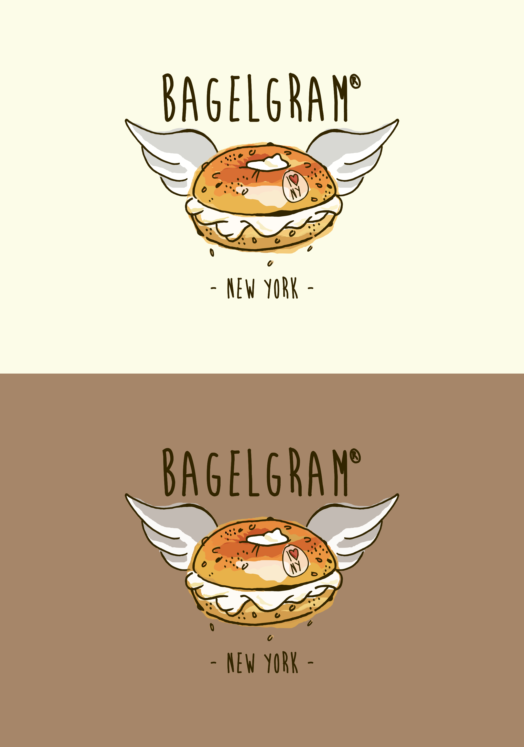 Logo restaurant BagelGram