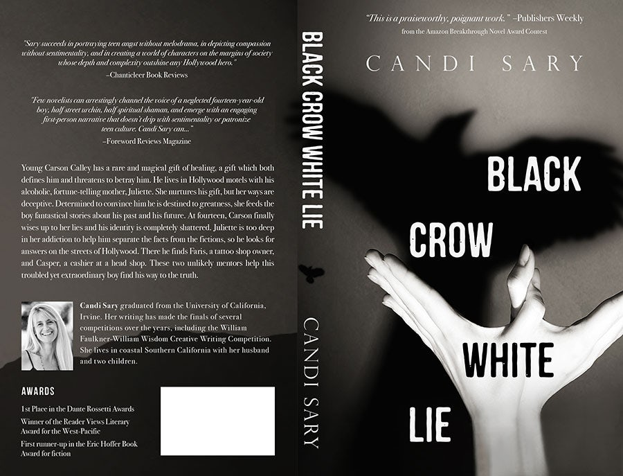 black crow white lie book cover