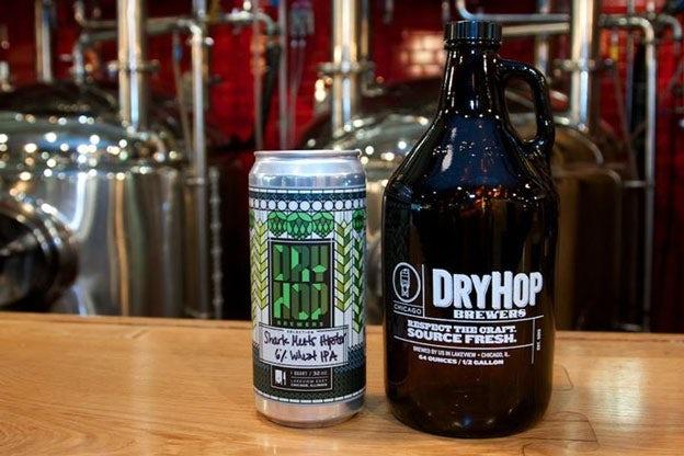 Dry Hop Brewers - Crowler beer trend