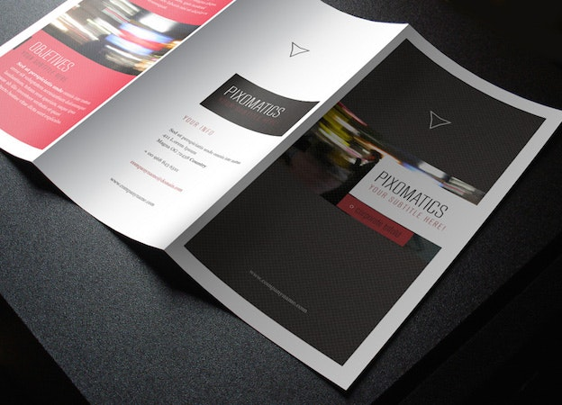 How To Ace Your Next Folded Brochure  Designs