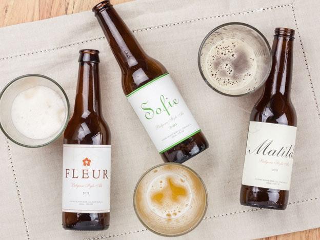 Goose Island beer labels