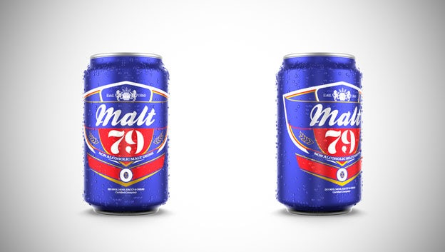 Malt 79 beer packaging from 99designs