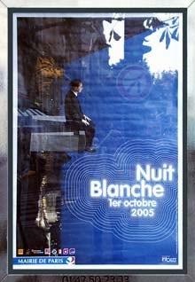Poster de la nuit Blanche 2005