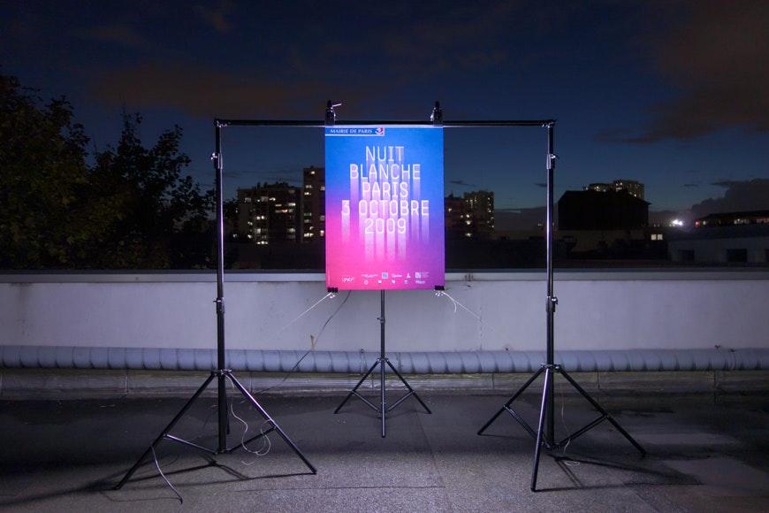 Poster de la nuit Blanche 2009