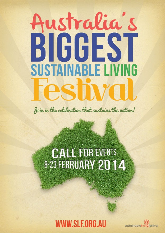 Sustainable Living Festival Poster