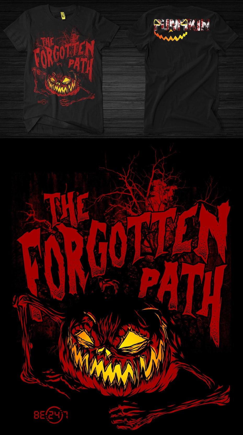 23 t-shirt design halloween