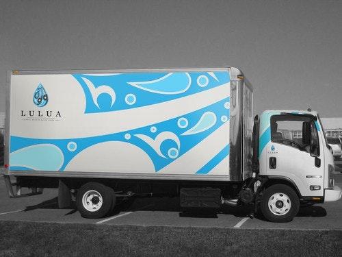 Lulua Truckbeklebung