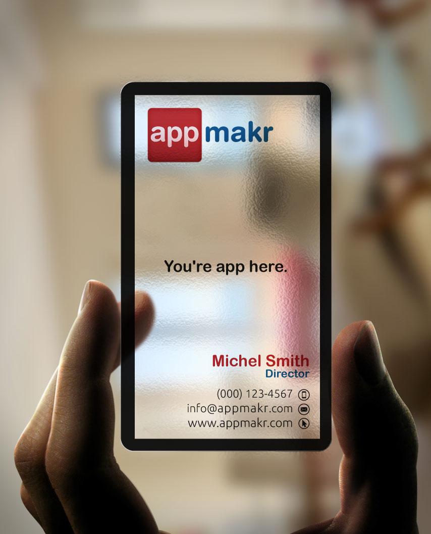 Carte de visite App Maker