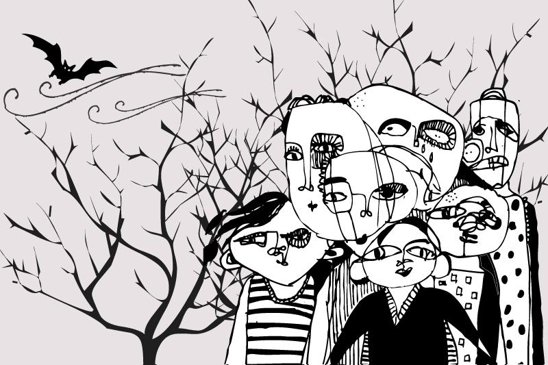 8 illustration halloween