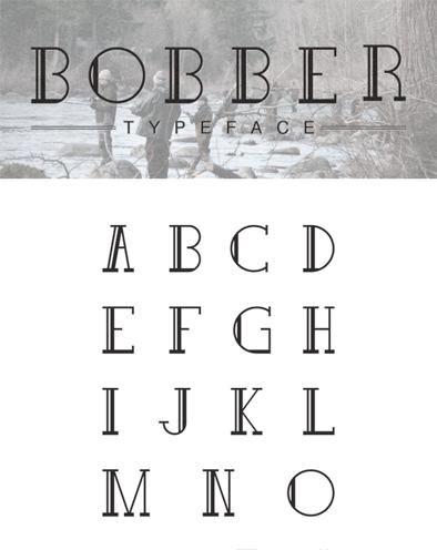 Typographie Aérée