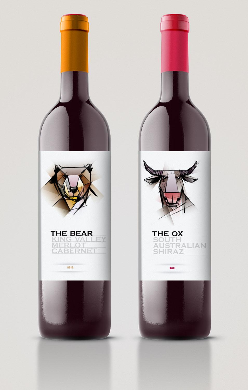étiquette Australian Wine
