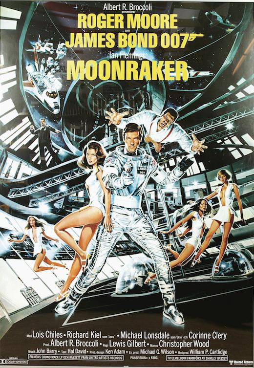 Affiche du film Moonraker