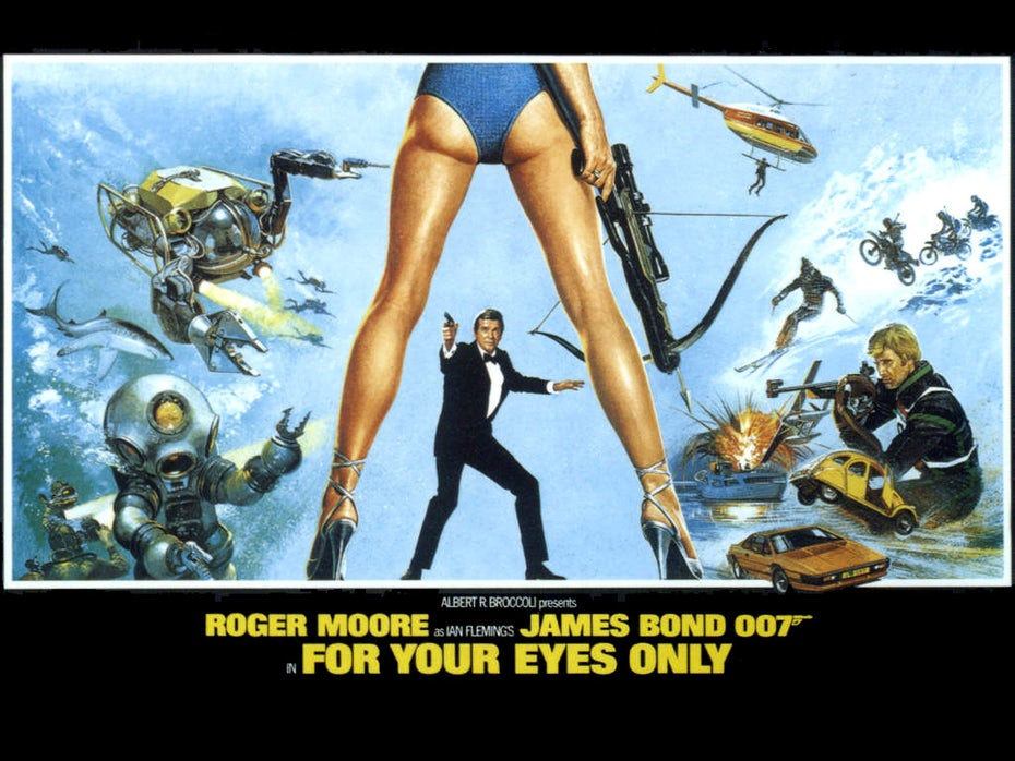 Affiche de For Your Eyes only