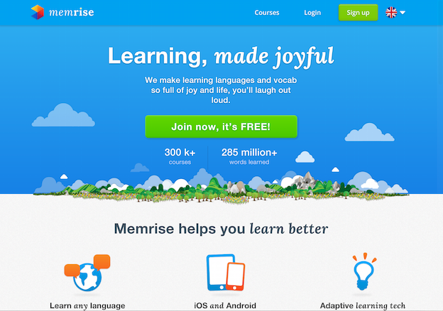 Improve your English - Memrise