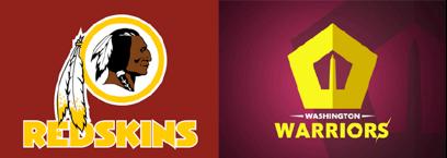 Refonte du logo Redskins