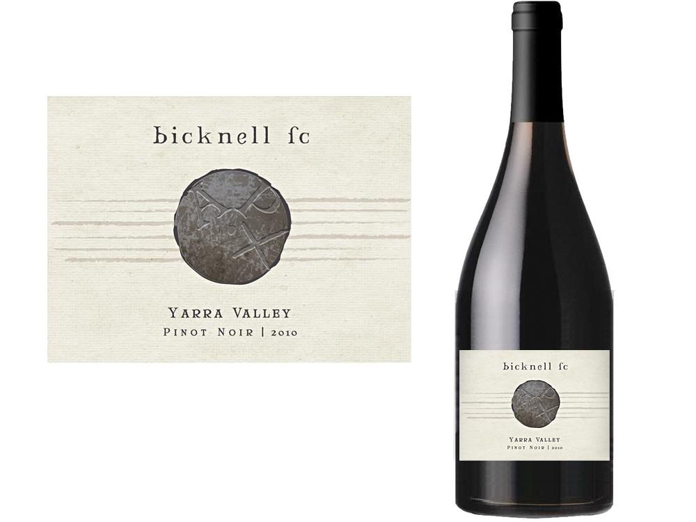 étiquette du vin bicknell