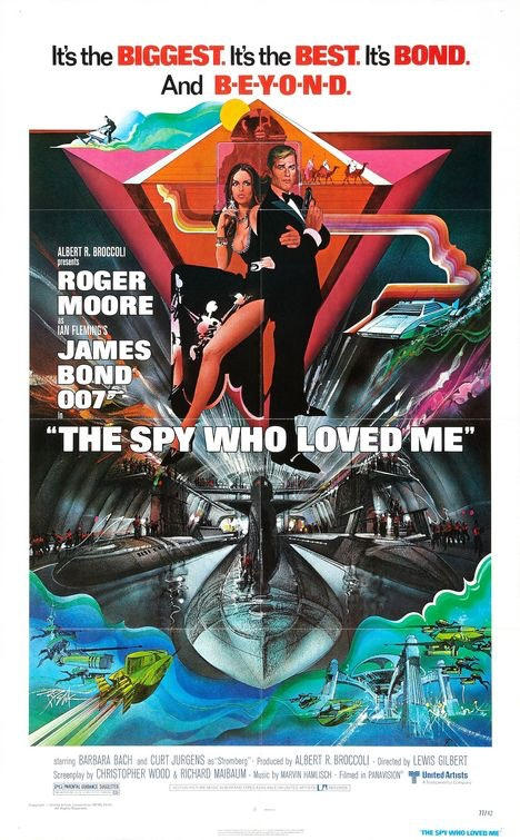 Affiche du film the spy who loved me