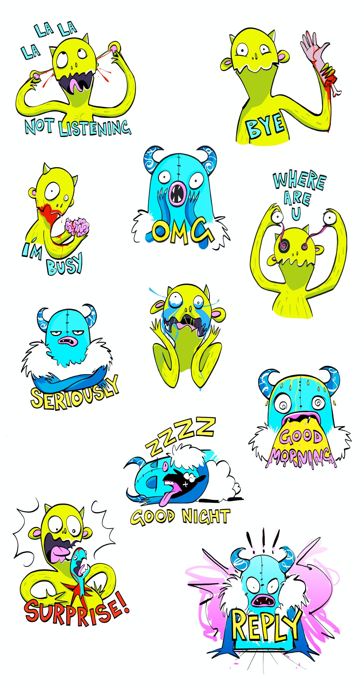 10 sticker design