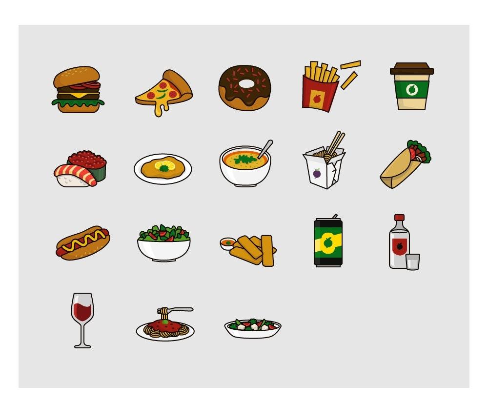 12 food design