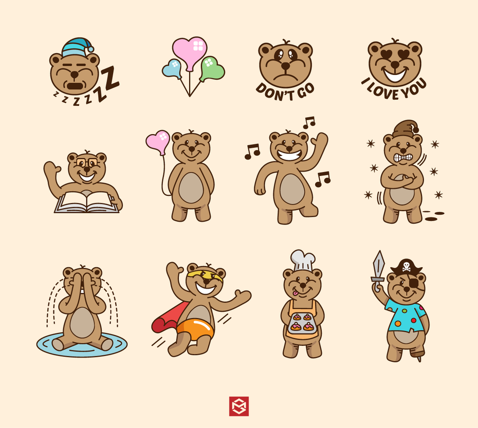 15 bärendesigns