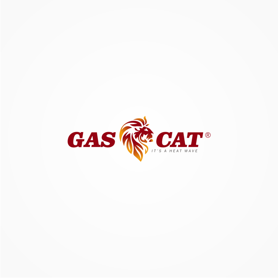 18 gas cat logo