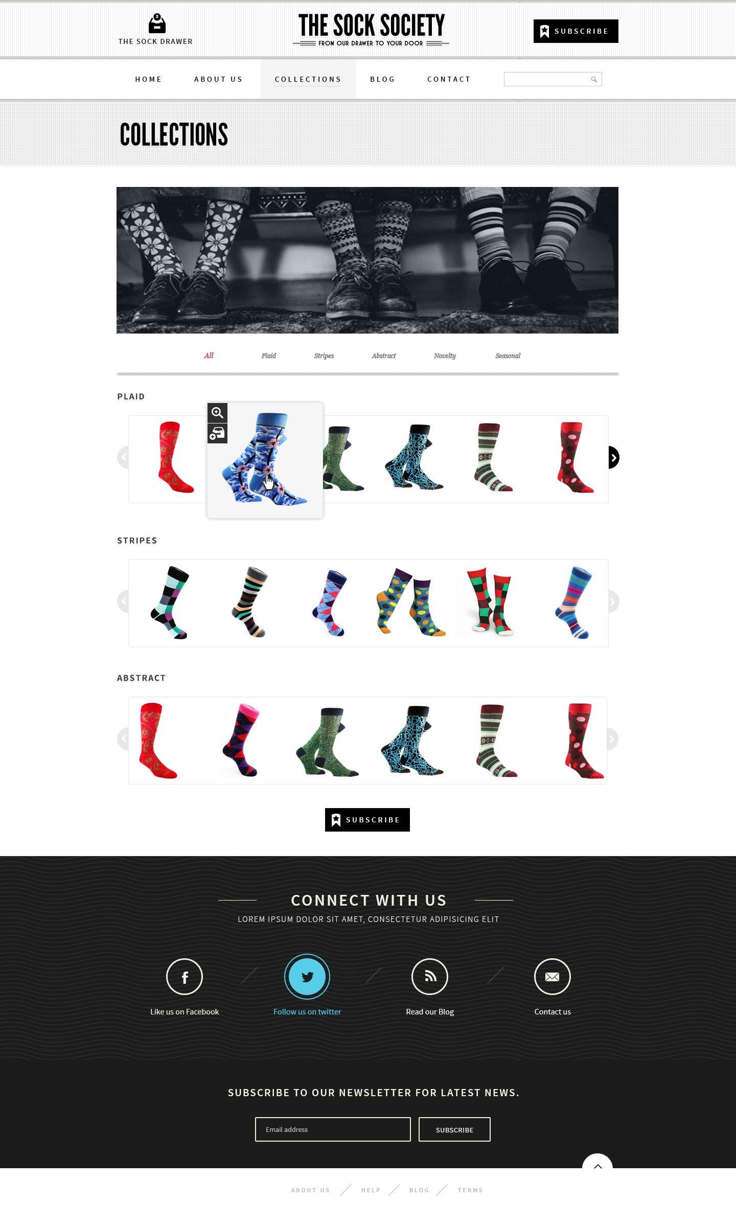 18 socken online shop