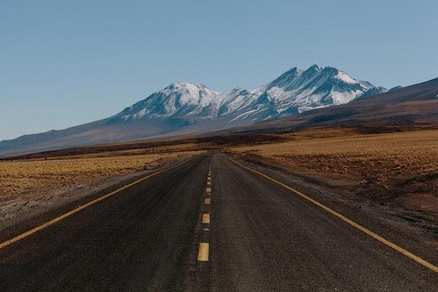 """Ein klassischer """"Road-Shot"""" von Pablo GarciaSaldaña"""