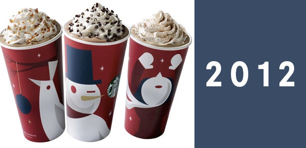 2012 starbucks holiday cup