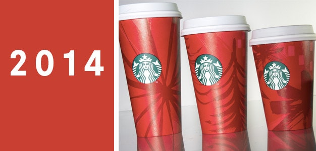 2014 starbucks holiday cup