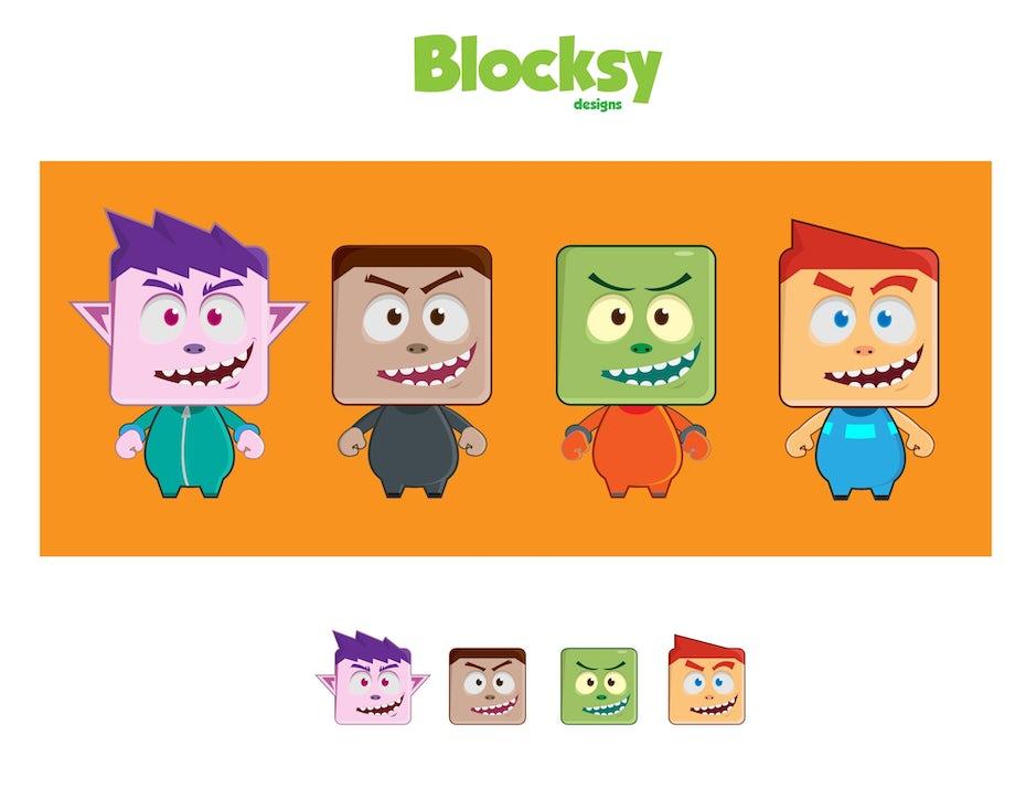 22 figuren blocksy