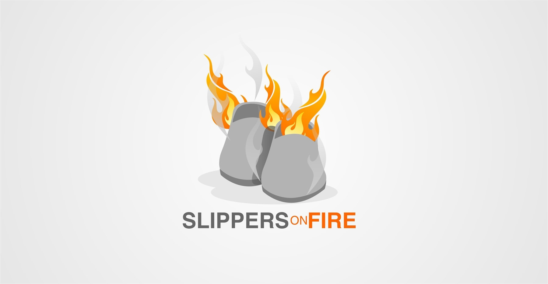 23 slipper on fire logo