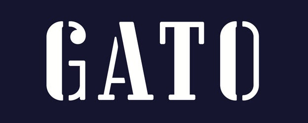 GATO – Restaurantlogo von Pentagram