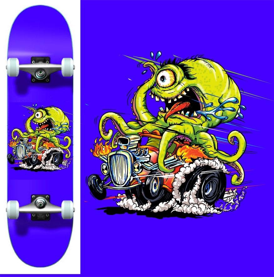 31 skateboard design