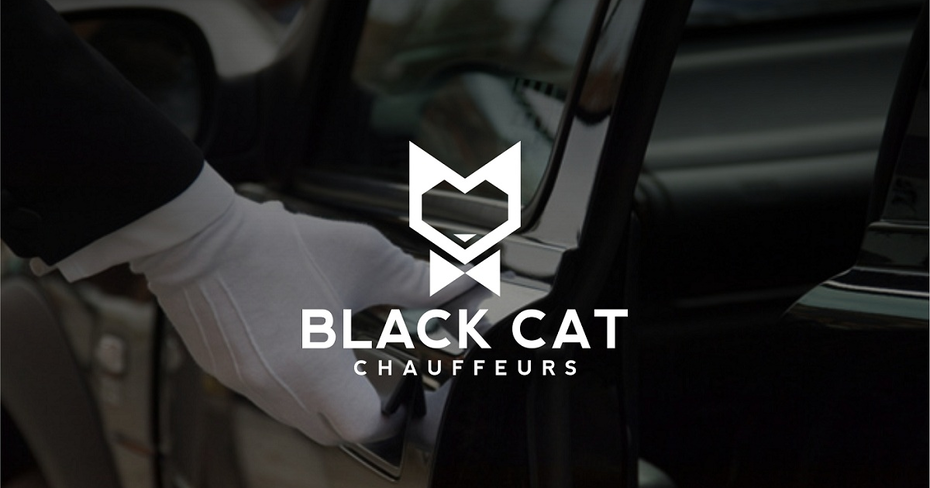 37 black cat logo