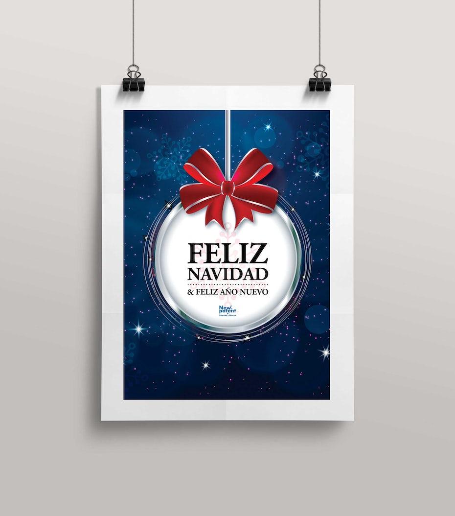 38 weihnachtskarte