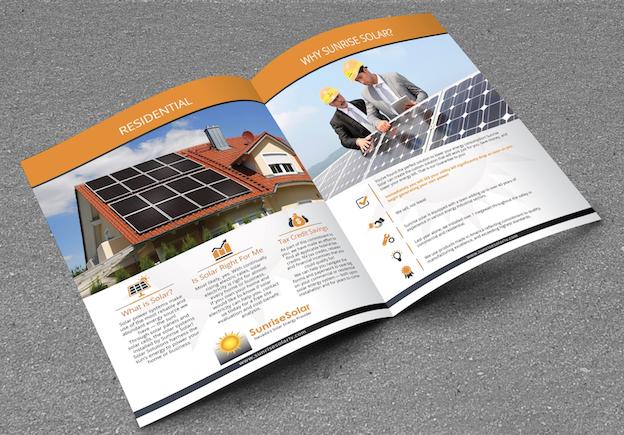 Sunrise Solar Broschüre