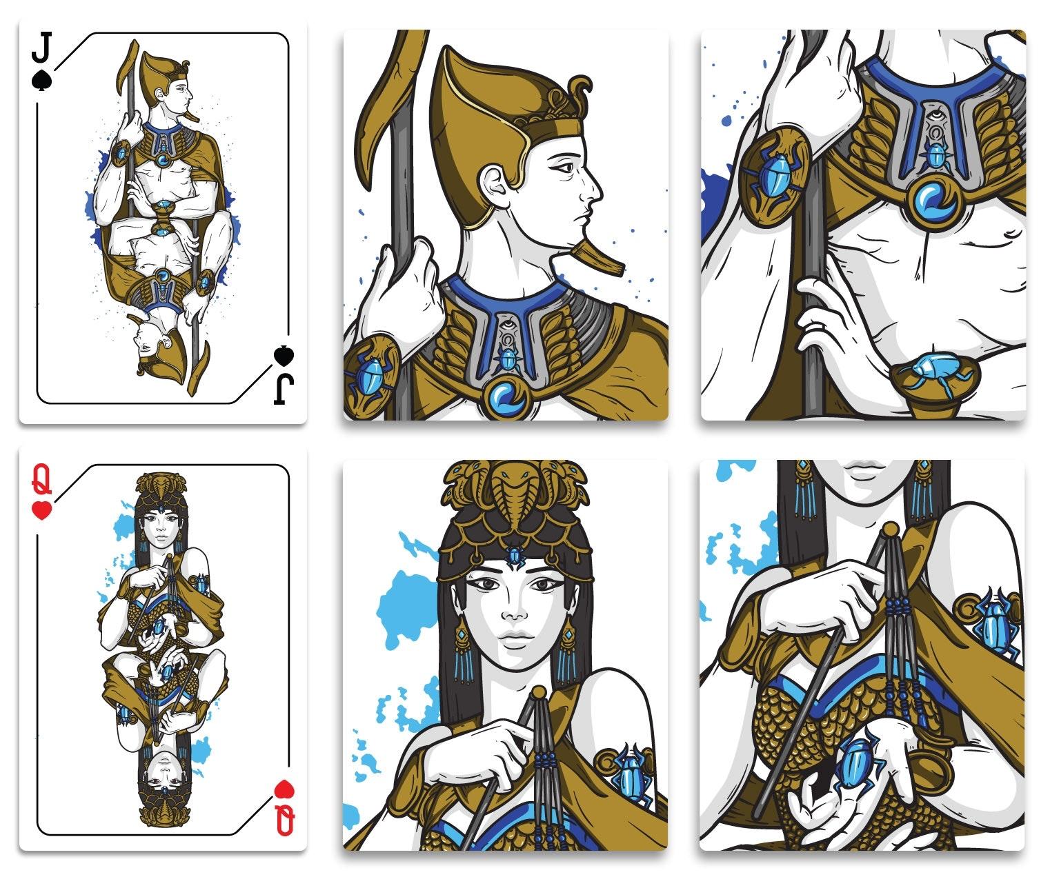 4 spielkarten-design