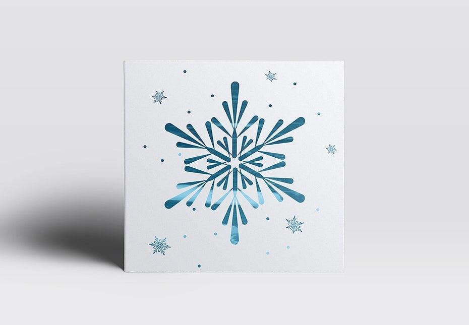 43 schneesternkarte