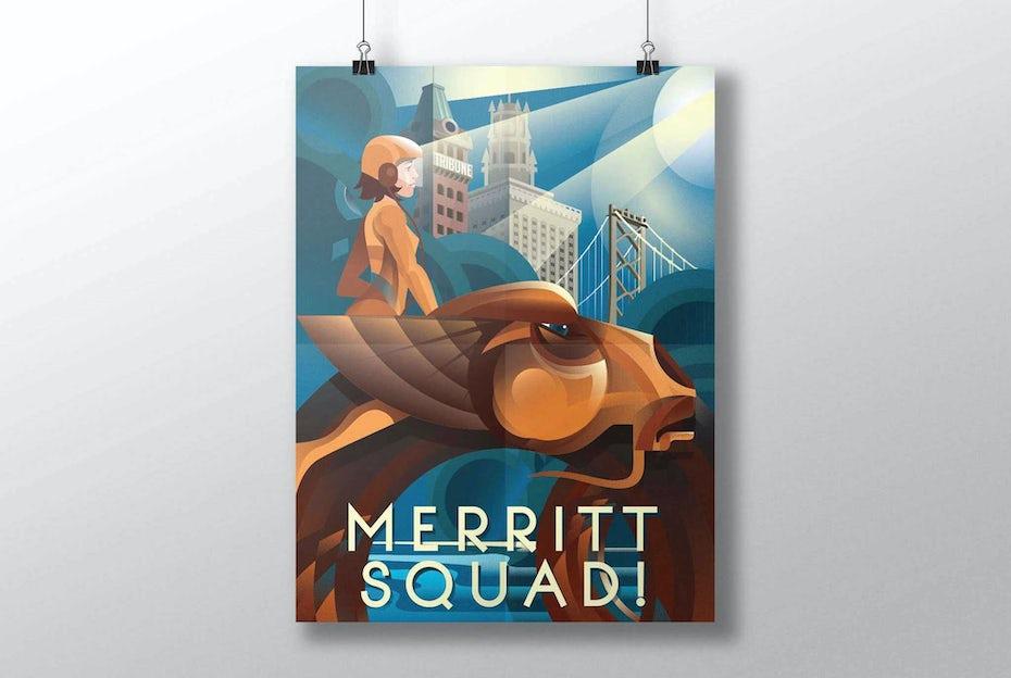 5 poster design