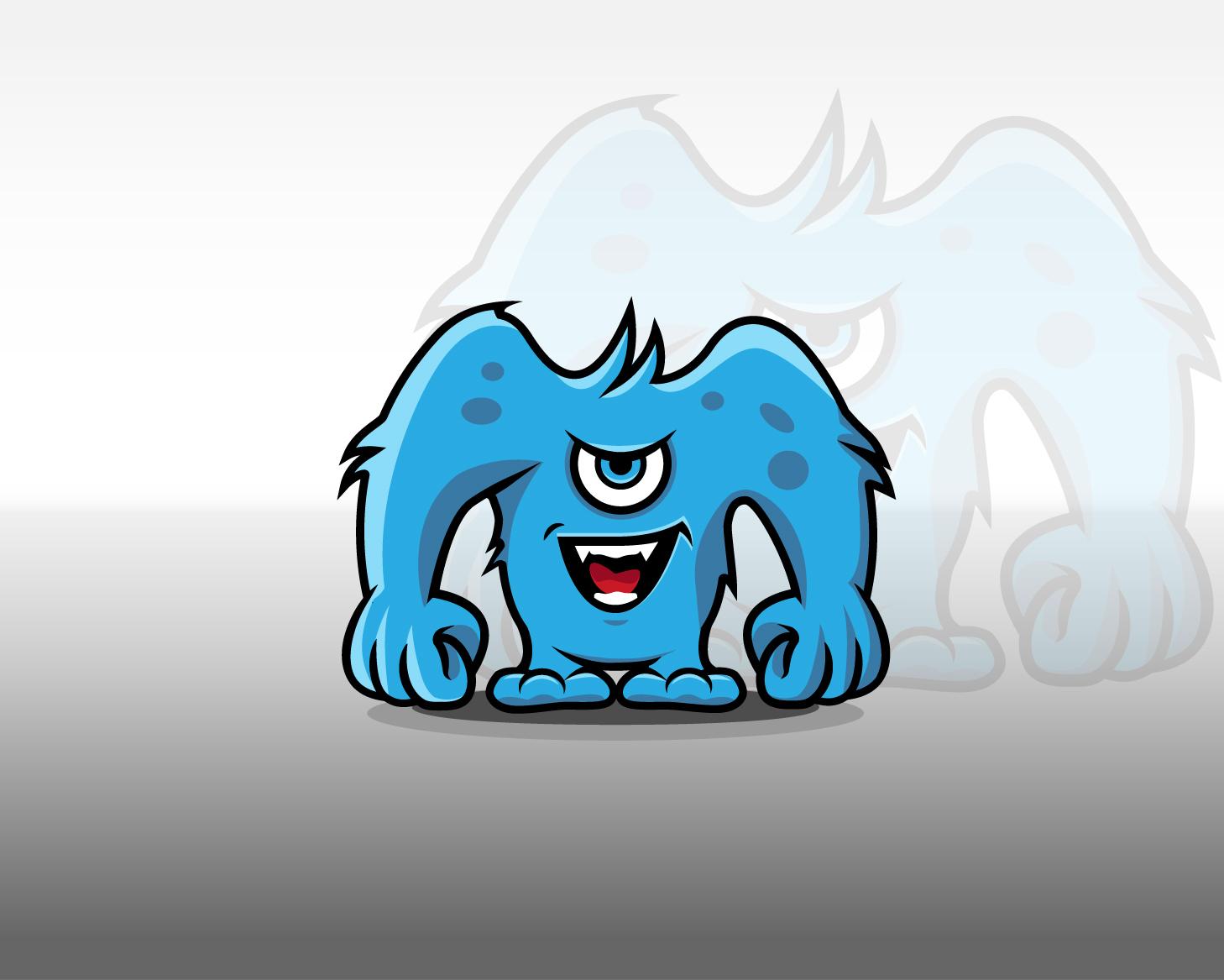 6 comic monster
