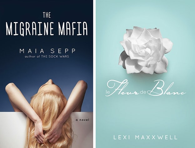 "Cover Design ""The Migraine Mafia"" & ""le Heur de Blanc"""