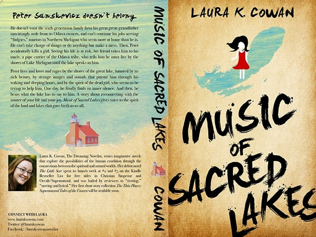 "Buchcover ""Music of Scred Lakes"""